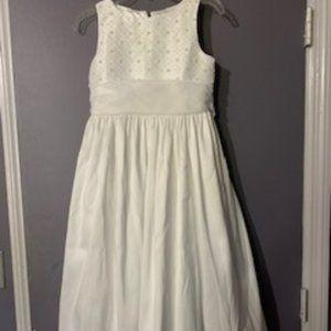 Girls Size 8 First Communion or Flower Girl Dress